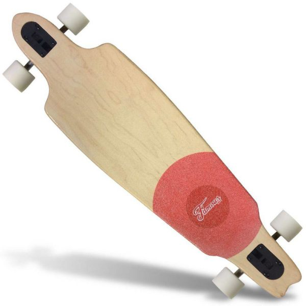 Longboard Importado Famous Red Speed Abec 9 SN-08