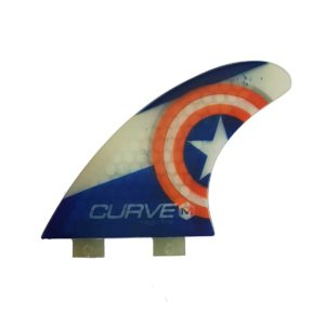 Quilha Magic Fins Curve M Captain QS-54