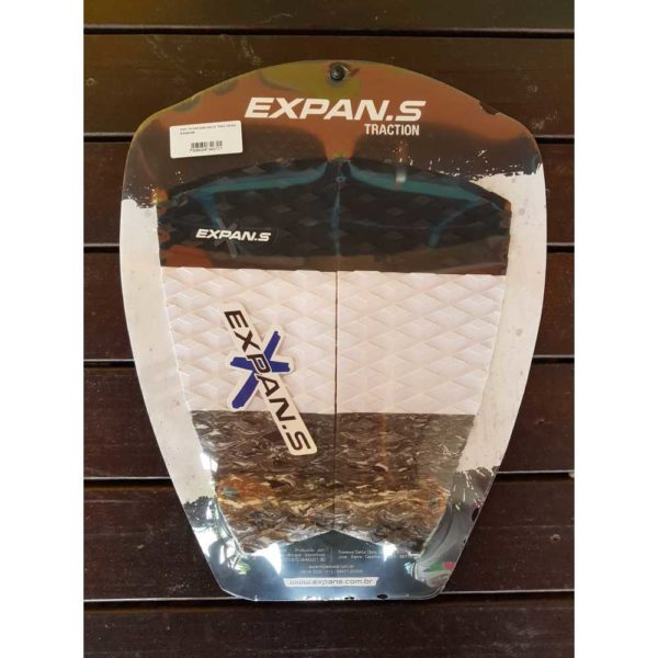 Deck Expans Traction Random Branco/Preto/Cinza DP-05