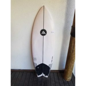 Prancha de surf usada Global Shapers Fish 5'3'' x 28 Litros PU-97