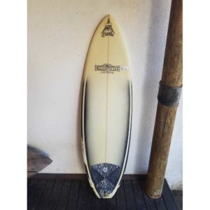 Prancha de surf usada Exotic Cia Glass 5'10'' PU-91