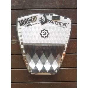 Deck Momentum Traction pads Preto/branco/cinza DP-35